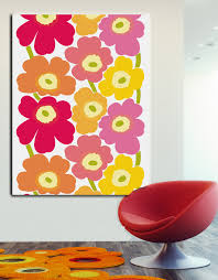 Small Picture Fabric wall art featuring Marimekko and other modern fabrics