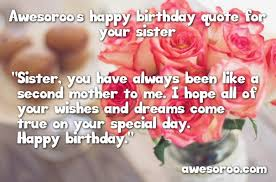 Quotes For Sister Birthday Mesmerizing 48 [BEST] Happy Birthday Sister Status Quotes Wishes Oct 48