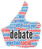 Image result for free debate clipart