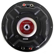 Pioneer 1200 Watt 10 Inch Subwoofer Champion Series DVC Car Bass Sub |  Black NEW #Pioneer | Car subwoofer, Subwoofer, Car