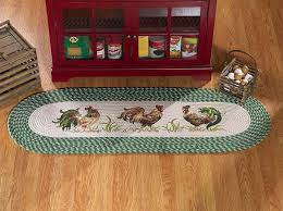 rooster kitchen rugs and accessories