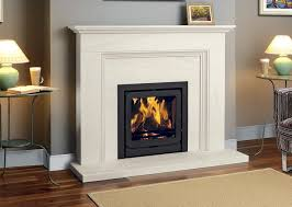 artisan ludlow limestone fireplace