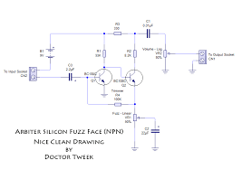 doctor tweek s blog guitar effects project electronics music get a warm fuzzy feeling