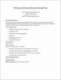 Pharmacy Technician Resume Example 11769 Pharmacy Technician Resume