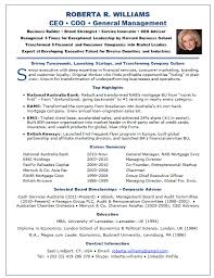 Ceo Resume Template Inspiration Gallery Of Resume Samples Chief Executive Officer Ceo Banking