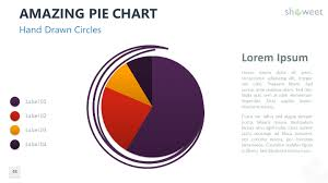 Hand Drawn Pie Chart Amazing Pie Charts 2 For Powerpoint Charts Diagrams For