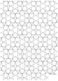 Islamic Art Coloring Pages Geometric Patterns Free Printable