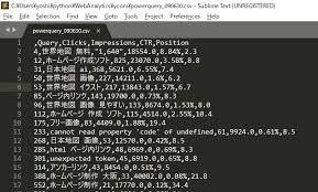 Csvをexcelで読み込むときには文字化けせずフィルター済みで