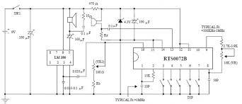 voice changer circuit diagram the wiring diagram voice changer circuit electronic projects using rts0072b circuit diagram