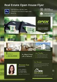 open house flyer template 30 psd format elegant real estate open house flyer template