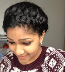 French Braid Updo Hairstyles Starburst Crown Braid Self Updo Hairstyle Youtube