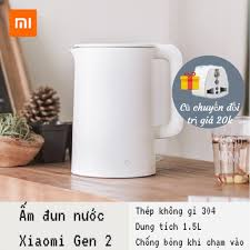 CHÍNH HÃNG] Bình đun nước siêu tốc Xiaomi gen 2