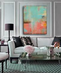 modern paintings for living room. large original abstract painting, acrylic paint, stripes pink black gold, modern painting by julianne strom paintings for living room v