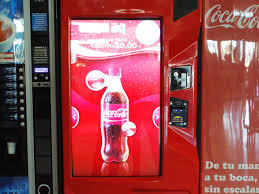 Coca Cola Touch Screen Vending Machine Cool Coke Gets Social With Interactive Drinks Vending Machine SiliconANGLE