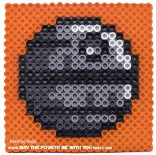 Star Wars Perler Bead Patterns Amazing Death Star Perler Bead Coaster May The Fourth Be With You Party