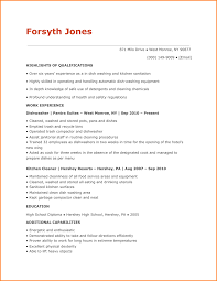 Dishwasher Resume Example Examples Of Resumes Best Ideas Sample For ...