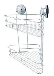suction cup shower caddy corner keeps falling