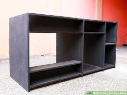 image titled paint furniture black step 6
