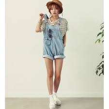 plus size overalls shorts plus size pockets design casual style jean short overalls for women