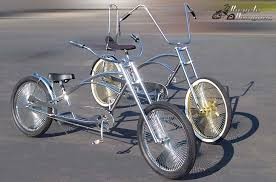 stretch chopper bicycles