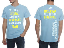 Swim Championship T Shirt Designs T Shirt Design For Wave Aquatics By Nildesigns Design