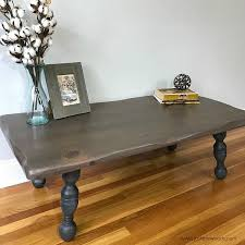 Image Kitchen Table Just The Woods Llc How To Refinish Rustic Wood Coffee Table With Beautiful Results