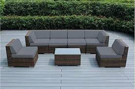 brown wicker outdoor furniture outdoor patio sofa wicker furniture mixed brown couch set gray brown wicker