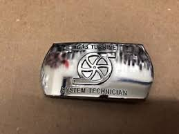 Details About Navy Gas Turbine System Technician Gsm Rate Silver Belt Buckle Military Issue