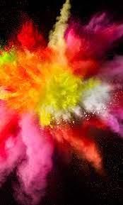 Full Hd Iphone Color Splash Wallpaper ...