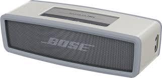 bose speaker. bose soundlink mini bluetooth speaker soft cover gray soundlink mini soft cover gray - best buy e