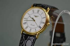 gents longines gold plated watch in excellent condition gents longines gold plated watch in excellent condition longines crown clasp original longines inner outer boxes wr0686