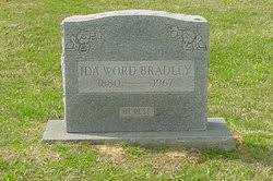 Ida Mae Word Bradley (1880-1967) - Find A Grave Memorial