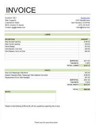 Free Service Invoice Awesome 48 Free Service Invoice Templates [Billing In Word And Excel]