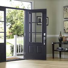 front door with windowExterior Door Buying Guide