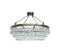 crystal semi flush mount chandelier french empire contemporary ceiling lighting