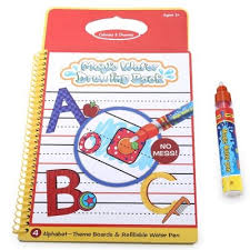 magic water drawing book with pen letter