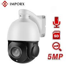 <b>IMPORX 5MP</b> POE PTZ <b>IP</b> Camera 4 Inch Audio High Speed Dome ...
