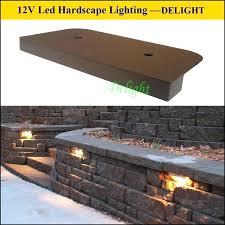 retaining wall lights under cap led lighting for retaining wall landscape retaining wall lights china led retaining wall lights