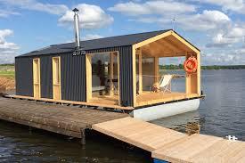 Dubldom Houseboat A Modular Floating Cabin Dubldom Small