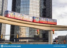 Mover System The Detroit People Mover Is Automated People Mover System In