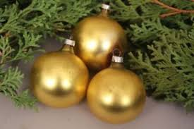 Details Zu Christbaumschmuck Weihnachtskugeln Gold Matt Alt Handarbeit Weihnachten Deko