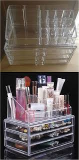 diy makeup storage and organizing ohuhu cosmetic organizer awesome ideas and dollar s hacks