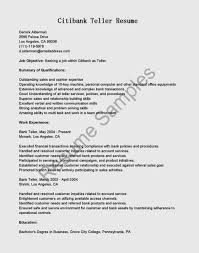 Objective For Bank Teller Resume Food Tester Sample Resume Account