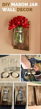 Diy Decorative Mason Jars DIY Mason Jar Wall Decor 82