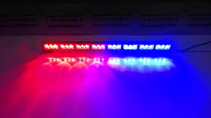Why Are Police Lights Red And Blue Lb1210 8 Red And Blue Led Dash Light Led Police Light