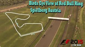 austria view red bull. F1 2017 Mod Aerial View Of Red Bull Ring Spielberg Austria