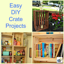easy diy projects with wood crates wood crates are inexpensive and very versatile in
