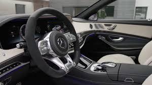 2018 Mercedes S63 AMG - Interior design