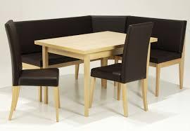 corner table and bench set lion linon chelsea breakfast corner nook kitchen trends captainwaltcom