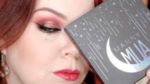 grungy glamour manny mua x makeup geek palette tutorial vineortacky you